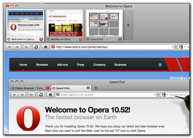 opera top browser for mac
