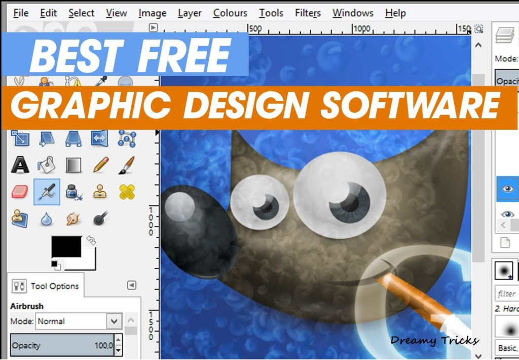 15 best free graphic design software 2018 dreamy tricks Art design software