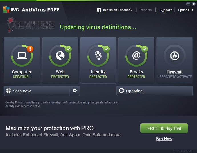 avg security for android
