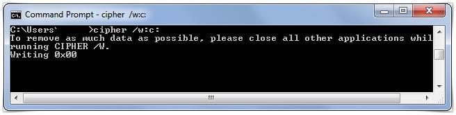 cipher cmd command