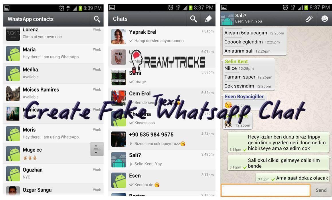 Whatsapp Chat Tricks