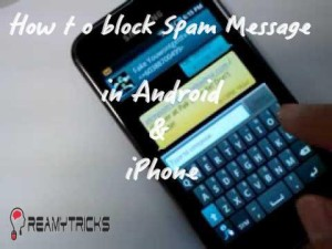 how to block spam message in iphone and android