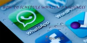 Tutorial to schedule Whatsapp Messages on Android