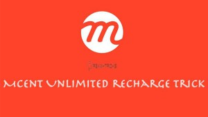 mcent free recharge trick