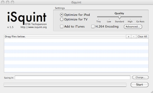 isquint video converter for mac
