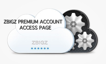 zbigz premium account access page
