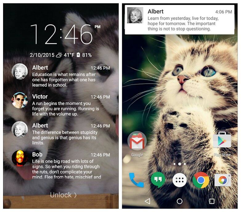 best android lockscreen replacement apps 2016