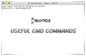 10 Useful CMD Commands which You Should Know