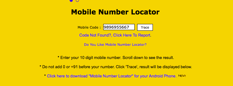 trace phone number with exact location