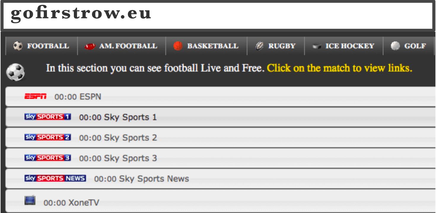 free live sports stream