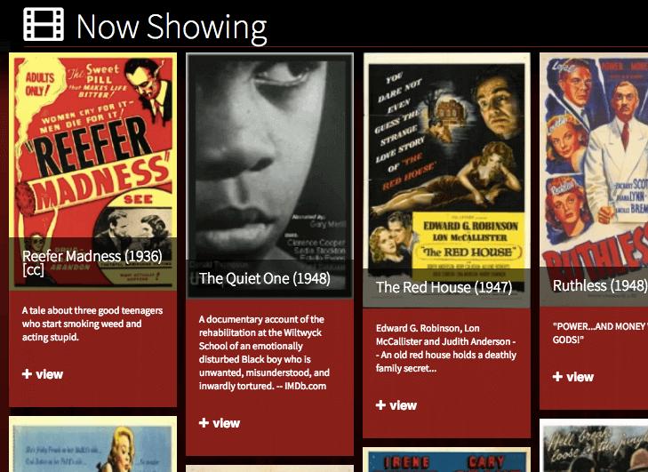 classic cinema online