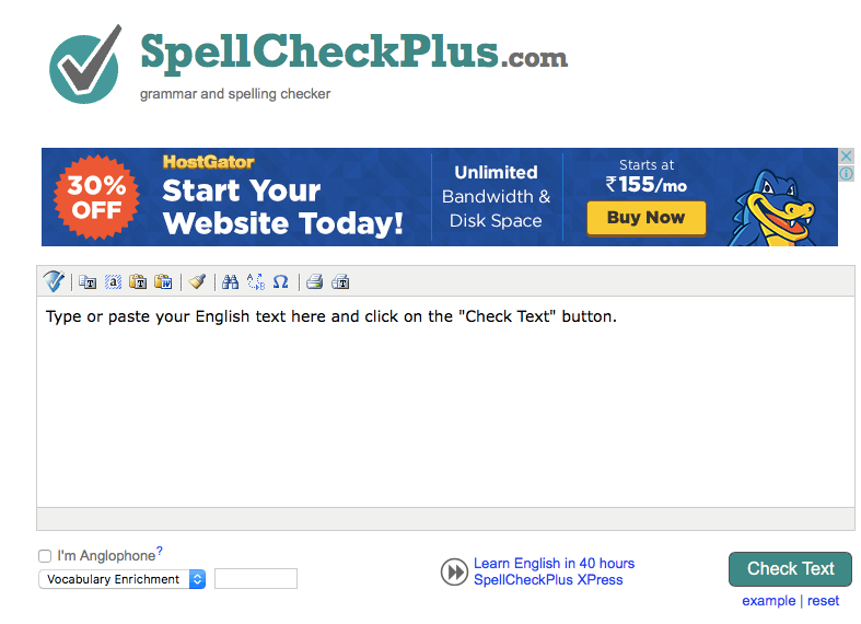 spell check plus