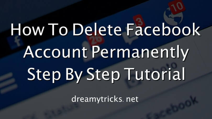 delete facebook account permanently